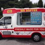 We had the Ice-Cream Man visit one summer!