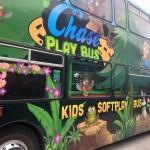 We had the fun bus visit us!