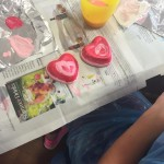 lovely painted hearts