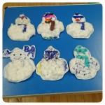 Fluffy Snowmen