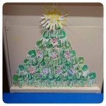 Our very own Handprint Christmas Tree