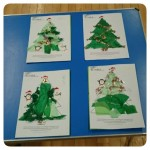 Designing our own Christmas Trees