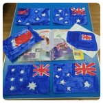 We learnt all about Australia and made some Australian flags to celebrate Australia Day