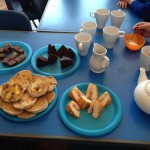 Celebrating the Queens Birthday with our very own English Tea party