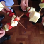 Our delicious Healthy Fruit Kebabs