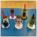 Our bug pencil pots