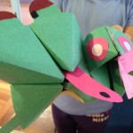 More paper animal puppets