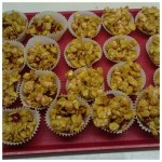 we had fun on our cooking night making marshmallow cornflake cakes