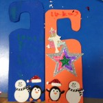 Christmassy door hangers