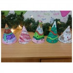 Looking Christmassy with our mini christmas trees