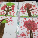 Our wonderful Chinese Blossom Trees