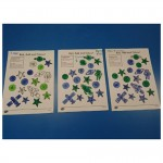 To practice our number skills we played a space colouring numbers game