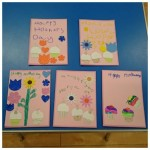 hope all you mums out there had a wonderful mothers day and enjoyed the cards we made