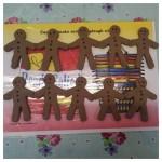 Playdough Gingerbread Men