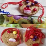 Our 'self portrait' biscuits