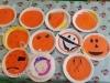 Halloween Pumpkin Plates