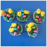 look at the wonderful Easter nests we created