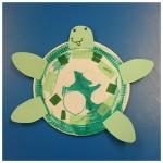 Our EYFS children are learning all about creatures under the sea and so we decided to make our own sea turtles
