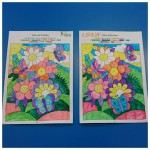 We enjoyed colouring in these lovely spring pictures