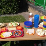 We had a lovely picnic in the sun