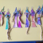 Our fantastic Rapunzel Tower Bookmarks