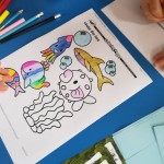 Look at our careful under the sea colouring
