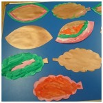 Our colourful painted autumn leaves