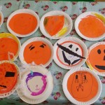 Getting in the mood for Halloween, pumpkin plates!