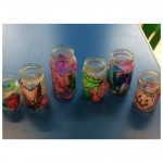 Look at our beautiful autumn tealight holders