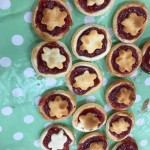 We also had fun making these delicious jam tarts