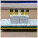 one of our children had fun building the Titanic out of Lego