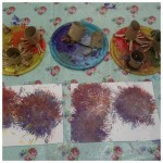 our colourful painted firework pictures