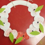 We also made these wonderful poppy wreaths