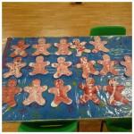 our wonderful wax resist gingerbread people