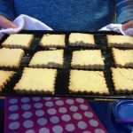 Our wonderful shortbread biscuits, they tasted great