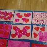 Valentine printing fun