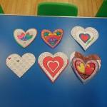 wonderful valentine Mindful colouring hearts