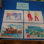 Celebrating Australia day with some Australian theme colouring pictures