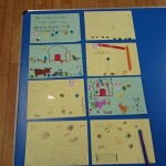 We created some wonderful farmyard pictures