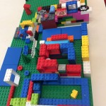 a wonderful lego creation by one of the children