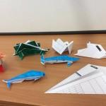 we made some wonderful origami animals