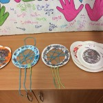 Our wonderful paper plate dreamcatchers