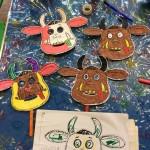 our gruffalo masks