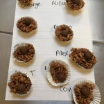 We had fun making these delicious crispy cakes