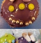 As part of space week we made some alien cupcakes