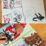 2 of our children got creative and made their own comic book