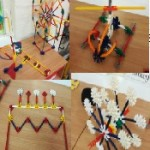 The children have really enjoyed following knex instructions