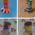 And carrying on with the EYFS under the sea theme we made some wonderfully colourful octopus'