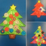 we had fun designing our own Christmas trees