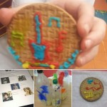 As part of music week we made instruments did a quiz and decorated biscuits